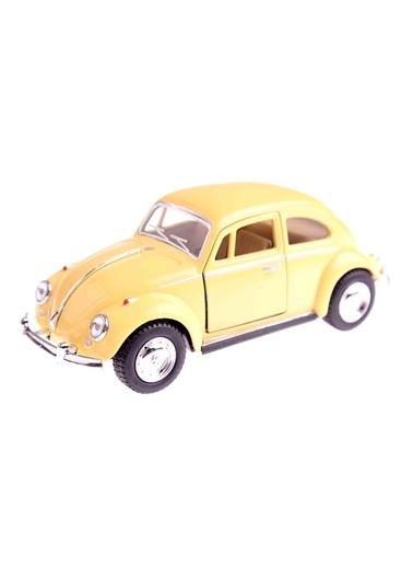 1967 Volkswagen Classical Beetle 1/32 Çek Bırak Die Cast Model Araç-Kinsmart